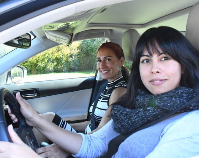 Female Driving Instructor Arlington, TX